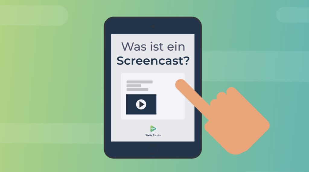 Screencast Erklärvideo