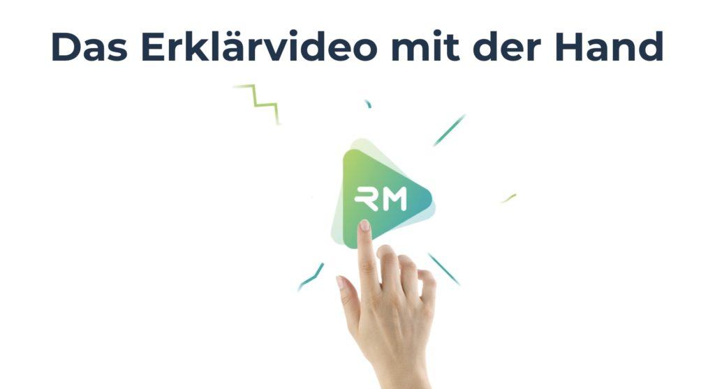 Erklärvideo Hand - Legetechnik - Legetrickfilm