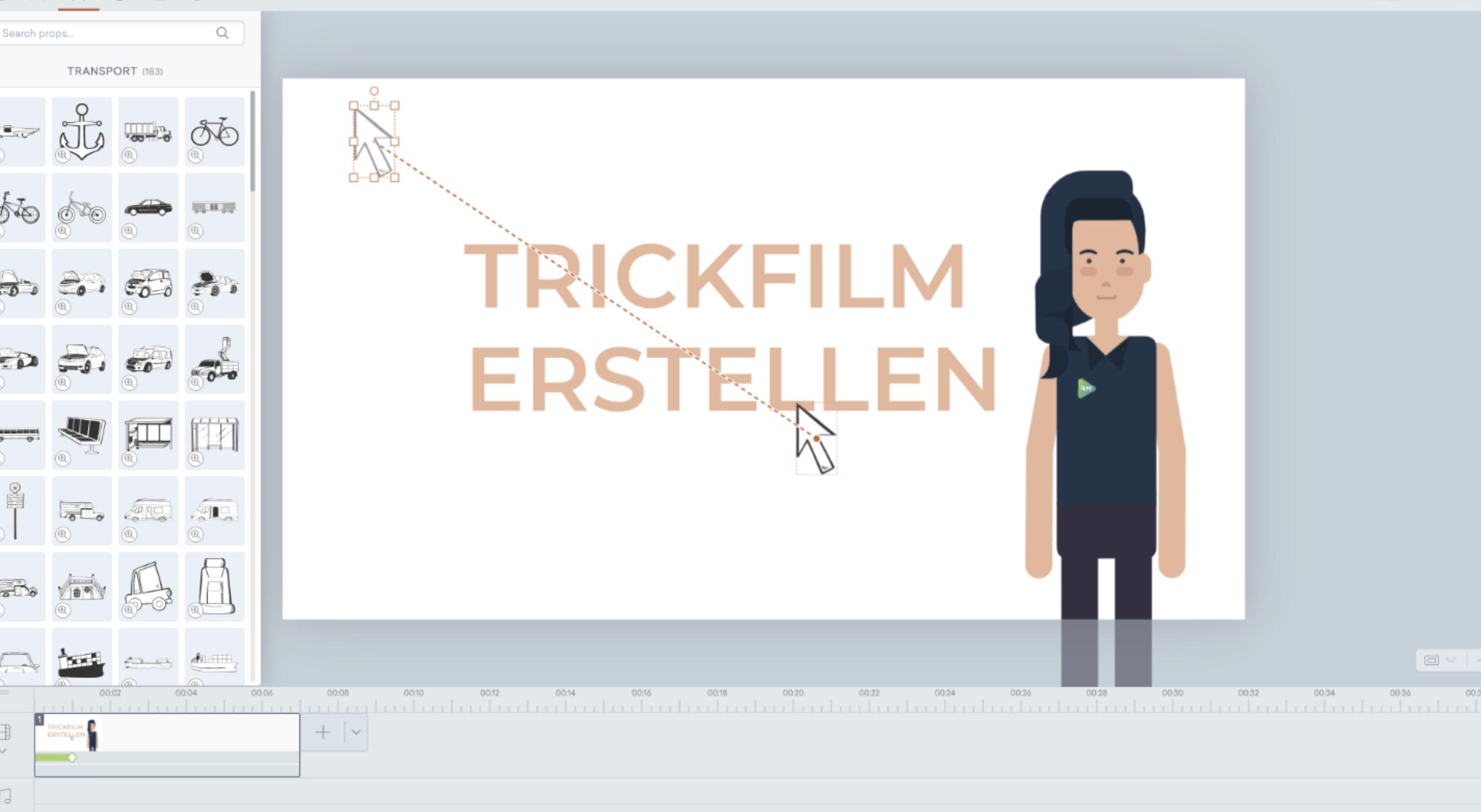 trickfilm erstellen